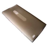 Capa De Silicone Tpu Celular Nokia Lumia 800 + Película