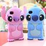 Capa/case Iphone 4/4s Stitch Original.rosa E Azul.lacrado