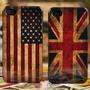 2x Capinha Capa Case Iphone 5 Estados Unidos / Inglaterra