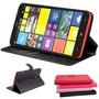 Case Nokia Lumia 1320 Capinha Carteira De Couro Sintetico