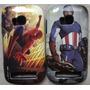 Capa Case Dupla Proteção Nokia Lumia N710 710 Heroes Marvel