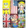 Capa Nokia Lumia 520 Cartoon Lindos Desenhos