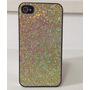 Case Capinha Glitter Brilho Dourado P/ Iphone 4 E 4s
