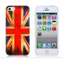 Case Capa Iphone 5/5s - Bandeira Grã-bretanha Uk Inglaterra