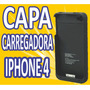 Capa Case Carregadora Iphone 4g 4s Apple Bateria Extra