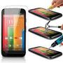 Capinhas Para Celular Motog Xt1032 Xt1033 Pelicula De Vidro