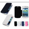 Capa Case Flip Cover Galaxy Fame 6810 6812 + Pelicula Protet