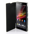 Capa Para Sony Xperia Zq Zl L35h C6503 Flip Cover Top Luxo
