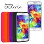 Frete Grátis! Capa Silicone Samsung Galaxy S5 G900 Película