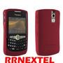 Capa De Proteção Silicone Blackberry 8350 Nextel Vermelha