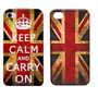 Capinha Case Capa Keep Calm Bandeira Iphone 4 4g Iphone 4s