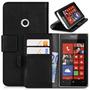 Capa Flip Carteira Couro Nokia Lumia 520 Suporte Dinheiro