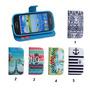 Promoção - Capa Couro Samsung Galaxy S3 Mini I8190 I8200