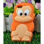 Capa Personalizada Macaco Iphone 5 5s Película Frete Grátis
