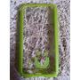 Capa Case Celular S5 Transparente Verde Mob