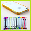 Capa Case Bumper Transparente Para Iphone 4s / 4 / 4g