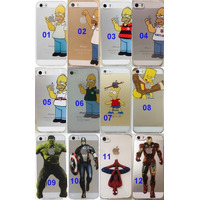 Case Capinha Silicone Homer Iphone 4/4s 5/5s Simpsons