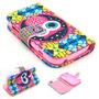 Capa Case Carteira Flip Coruja Galaxy S Duos S7562 S7560