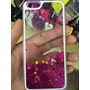 Capa Gel Com Glitter Iphone 5 5s 6 6 Plus