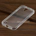 Capa Transparente Galaxy S4 I9500 Tpu + Película Vidro Top!