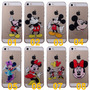 Capa Transparente Iphone 5 5c 5s 6 Mickey Minnie