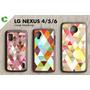 Capa Capinha De Celular C Fotos Case Pers Lg Nexus 6