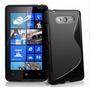 Capa Case Gel Tpu Celular Nokia Lumia 820 Pelicula F Grátis