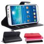 Capa Carteira Case Couro Samsung Galaxy J1 Ace Duos Premium