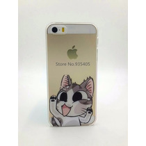 Capa Hard Case Iphone 5s Gatinho