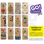 10 Capinhas Gocase Iphone 4/4s/5/5s/5c/6/6 Plus Por R$85,00