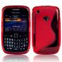 Capa Silicone Tpu Celular Blackberry 9300 8520 Pelicula