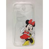 Case Capinha Silicone Minnie E Mickey Motorola Moto G 1