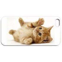 Capa Iphone 4 4s 5 5c 5s 6 6 Plus Animal Gato Gatinho Fofo