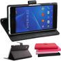 Capa Case Flip Couro Carteira Sony Xperia Z2 D6502 D6503 Top