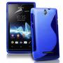 Capa Tpu Silicone Sony Xperia E Dual C1604 C1605 Pelicula