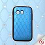 Capa Samsung Galaxy Y S5360 Brilho Strass Azul E Preto