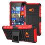 Capa Nokia Lumia 535 Super Armadura + Película Top