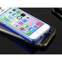 Capa Case Bumper Alumínio Iphone 4 4s + 1 Pelicula De Vidro