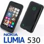 Capa S-type Tpu Para Nokia Lumia 530 + Película