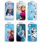 Capa Capinha Celular Frozen Elsa Olaf- Iphone 4/4s,5/5s,5c,6