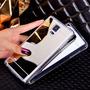 Capinha Capa Case Galaxy S5 Prata Espelhada Luxuosa Linda
