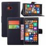 Capa Carteira Couro Nokia Lumia 930 N930 Case + Película Top