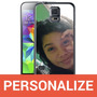 Capa Personalizada Tpu Com A Sua Foto Para Galaxy S5
