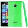 Capa Transparente Nokia Lumia N435 / 435 + Película De Vidro