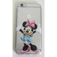 Case Capa Capinha Minnie Mickey Disney Iphone 6 Frete R$9,99