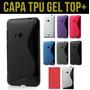 Capa Lumia 625 Case Tpu Color + Película