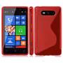 Capa Nokia Lumia 820 Case Tpu Silicone Celular Pelicula