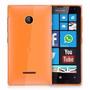 Capa Celular Nokia Lumia 532 Tpu Silicone + Película Vidro