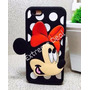Case Capa Capinha Mickey Dourada Linda Iphone 6