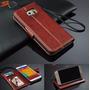 Capa Couro Samsung S6 G9200 G920 G925 Carteira Porta Retrato